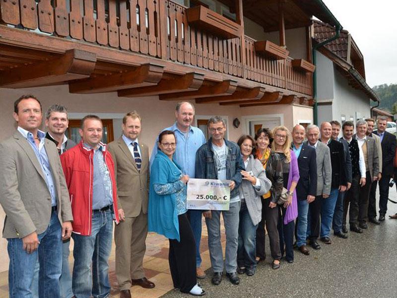 KC Noreia St. Veit unterstützt Hochwasser Opfer in Lavamünd