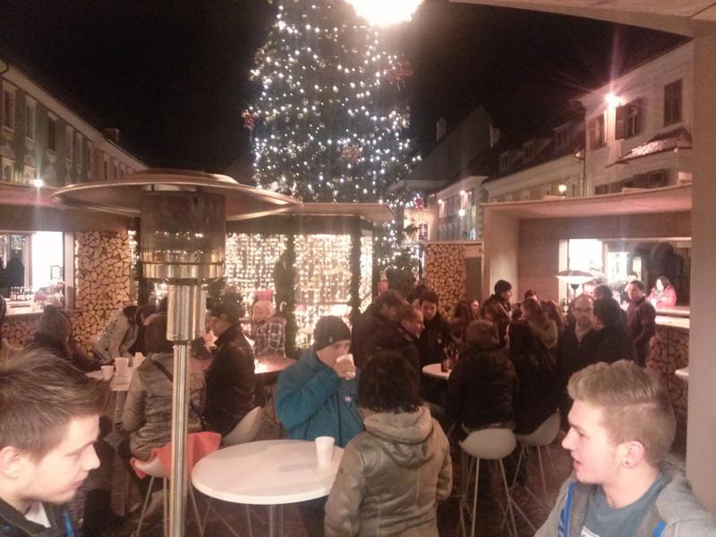 KC Noreia St.Veit Glühweinstand am Hauptplatz