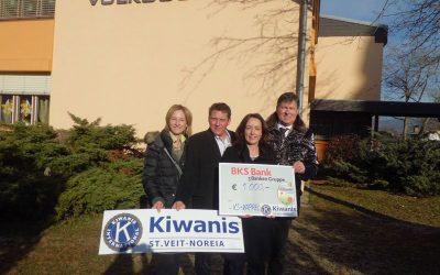 KC Noreia St. Veit unterstützt Kinder der VS-Kappel