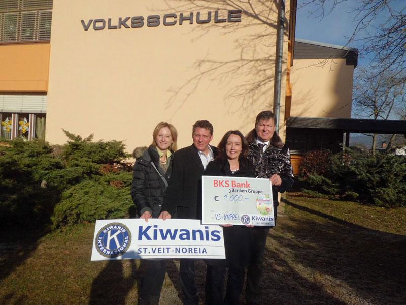 KC Noreia St. Veit unterstützt Kinder Schulwochen