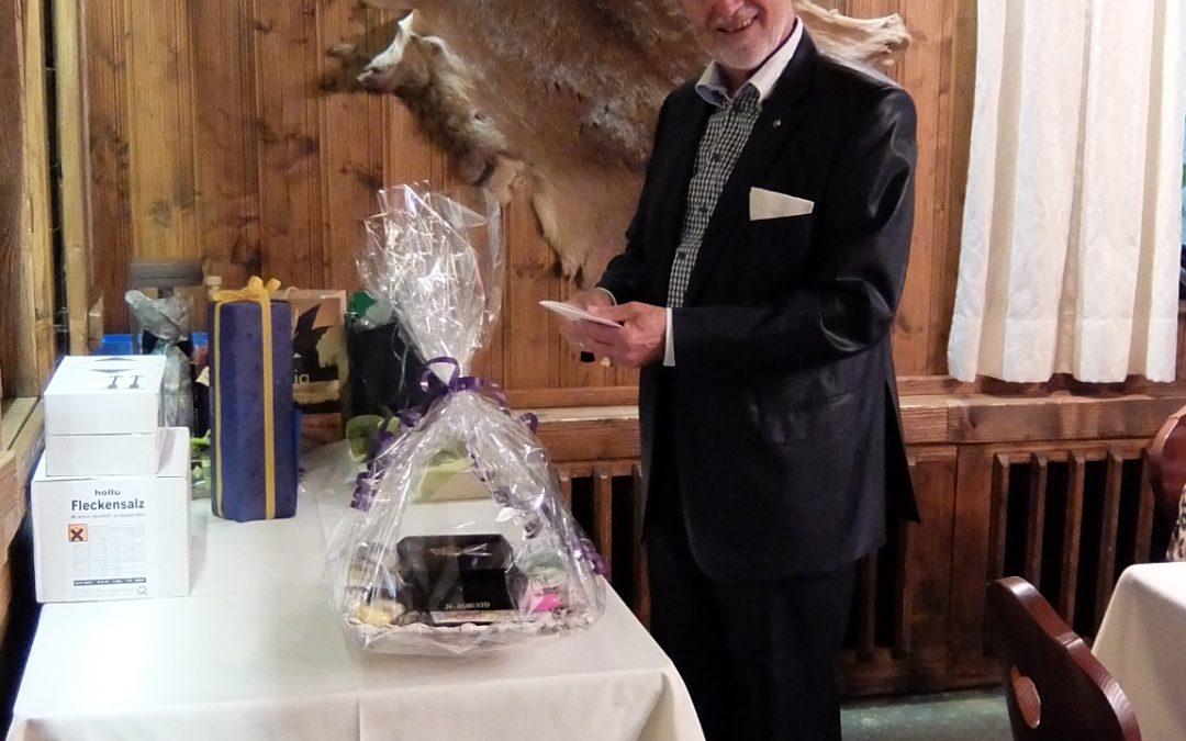 Hubert 75. Geburtstag
