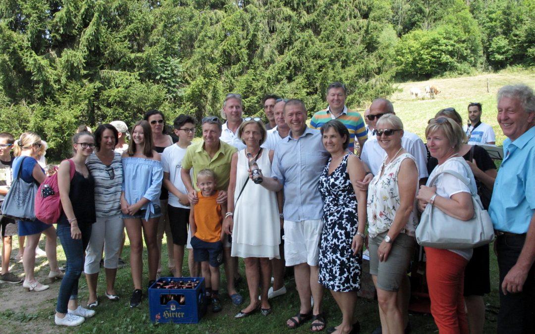 Sommerfest 2017 zum 60iger bei Walter und Christine in Pflugern